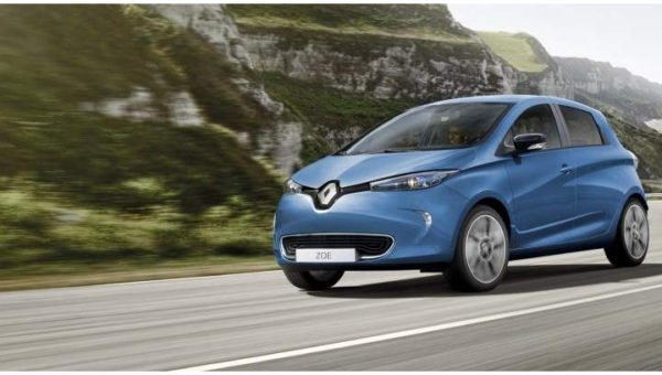 charging point for Renault Zoe