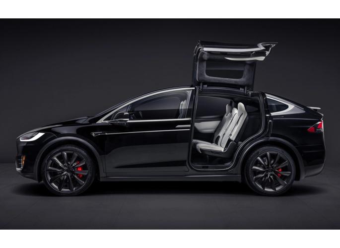 Tesla X design