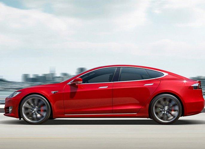 Tesla S design