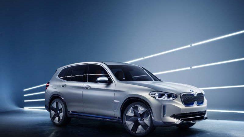 BMW iX3 design