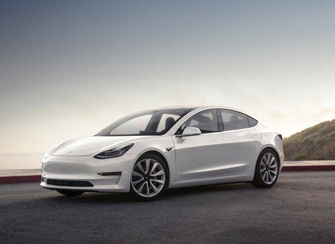Tesla Model 3 design