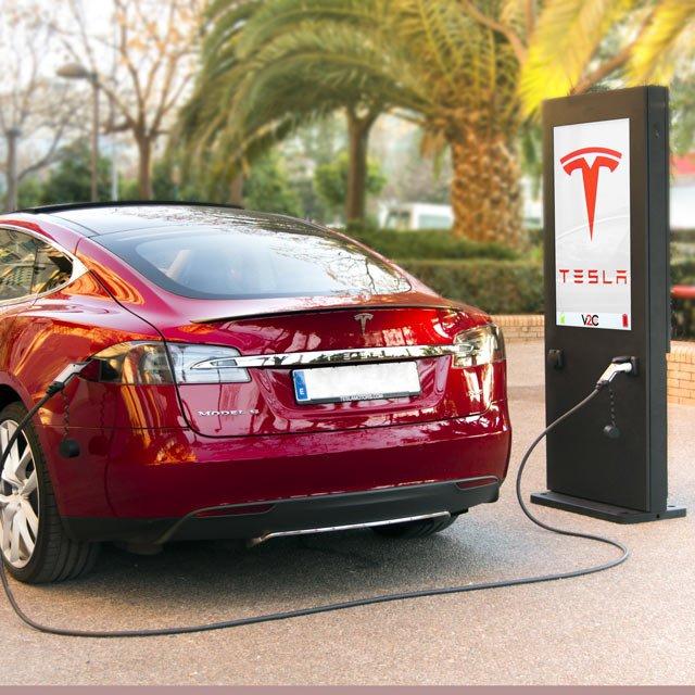 Punto de recarga para vehículos eléctricos SCREEN