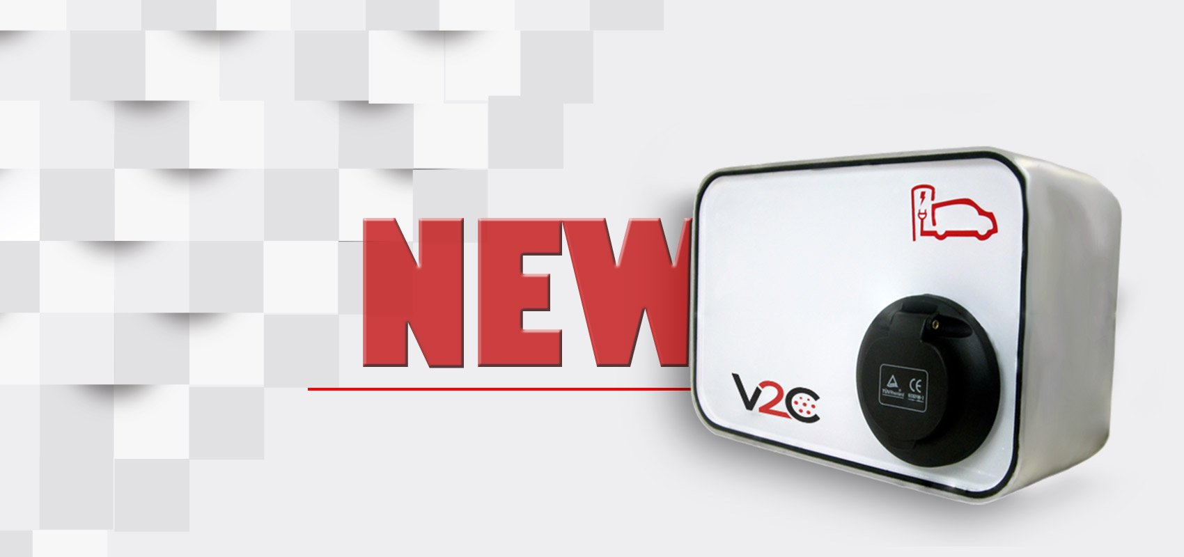 NEW, modelo de V2C cargador coche electrico
