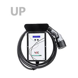 UP Punto de recarga para coches eléctricos