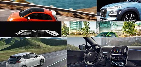 Modelos de coches eléctricos y puntos de recarga