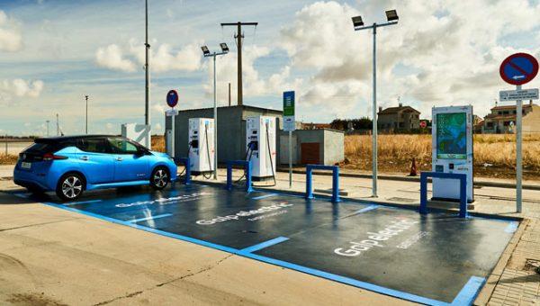 Puntos de recarga rápida para coches eléctricos