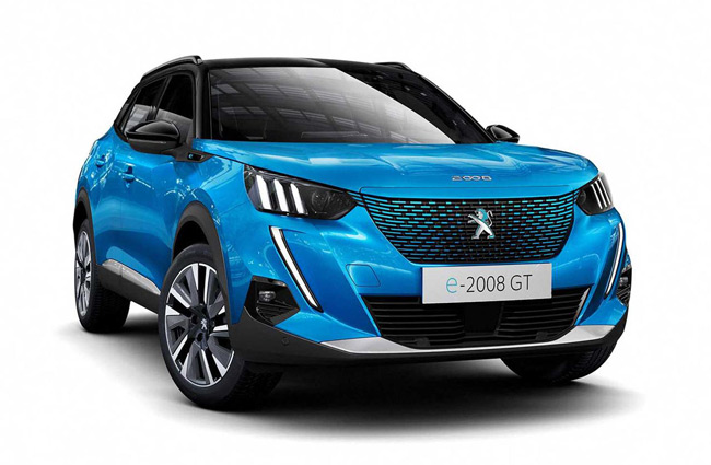Punto de recarga para Peugeot e-2008