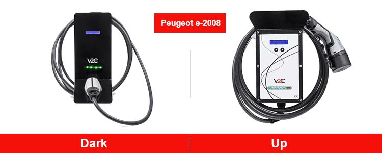 Puntos de recarga para Peugeot e-2008