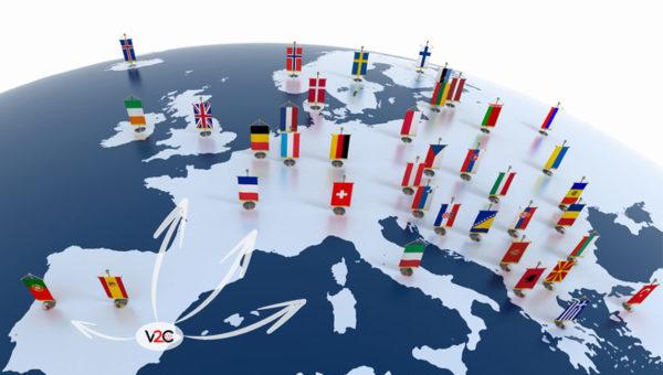 Expansión internacional de V2C